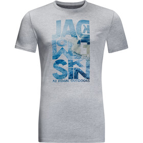 Jack Wolfskin Atlantic Ocean Tee Men slate grey